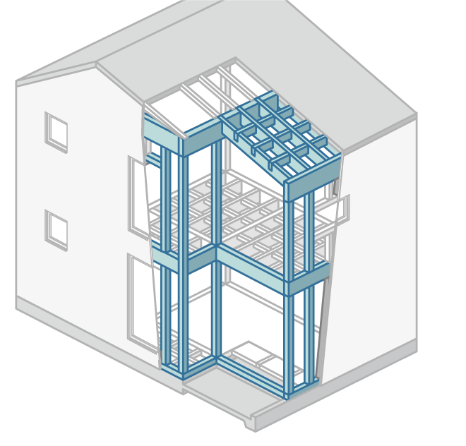 構造材の断熱性