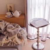 window treatment カーテンにおけるリボンの効果