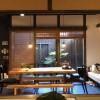 京都の町家にて