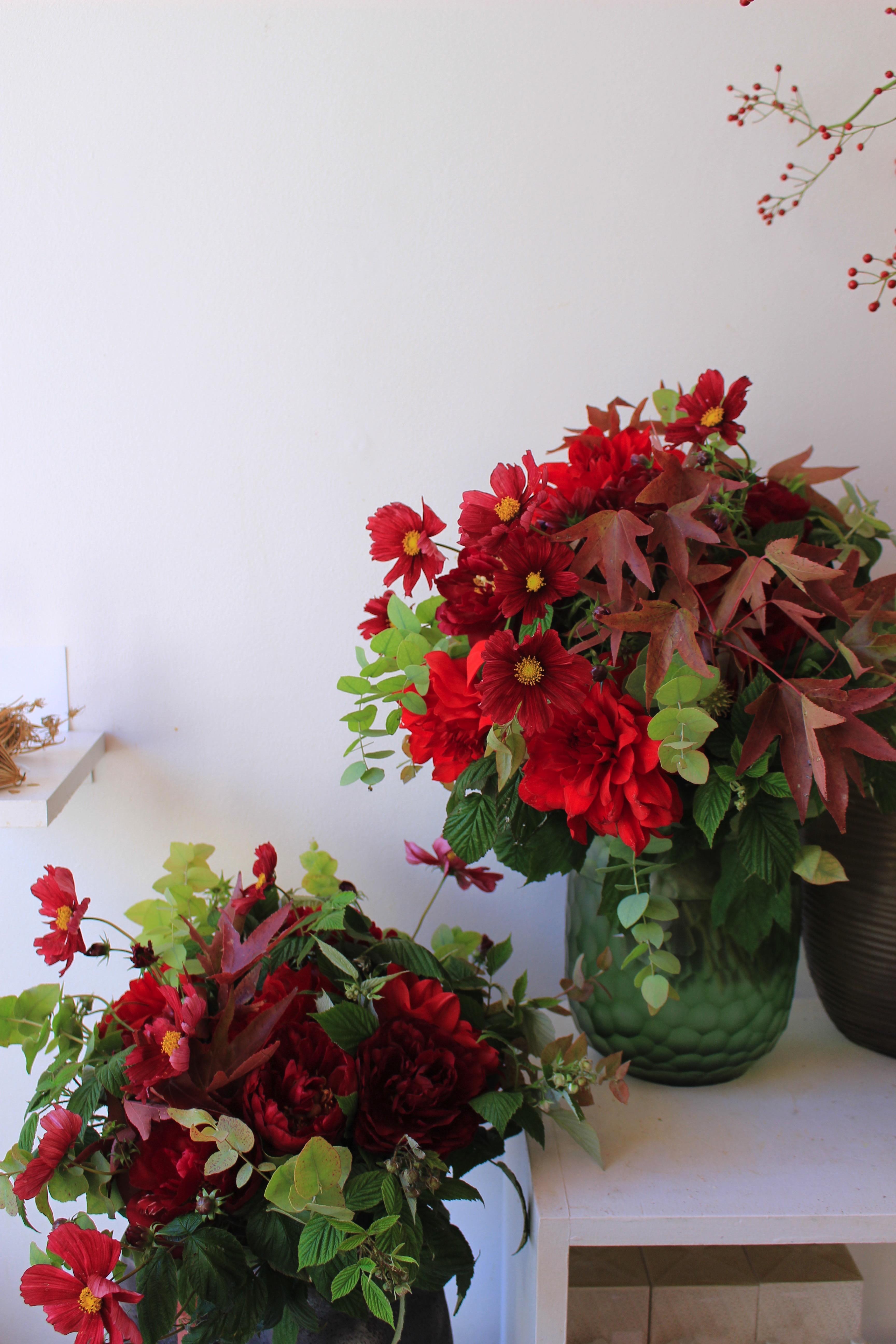 秋を彩るシャンペトルブーケ